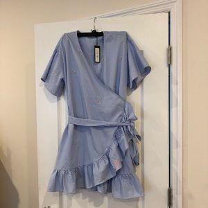 Super Cute Wrap Dress